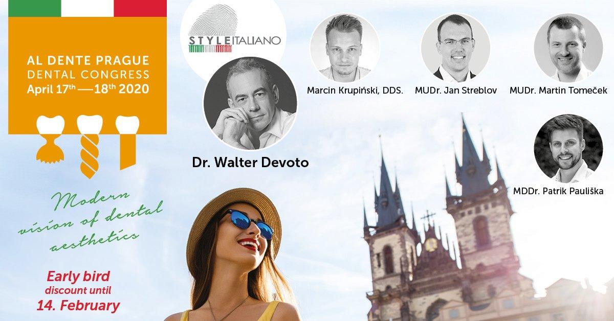 Al Dente Prague Dental Congress