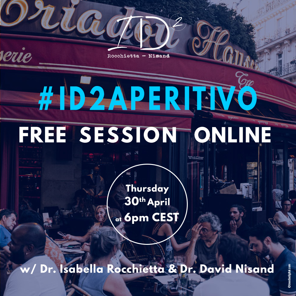 #ID2 Aperitivo Drs. Isabella Rocchietta and David Nisand invite you to join them for a chat on Vertical GBR and GTR