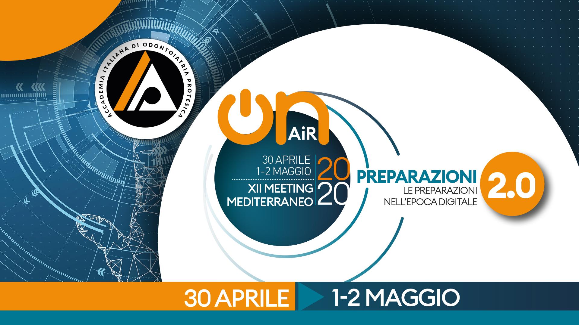 XII Meeting Mediterraneo: Preparazioni 2.0 – Le preparazioni nell'epoca digitale