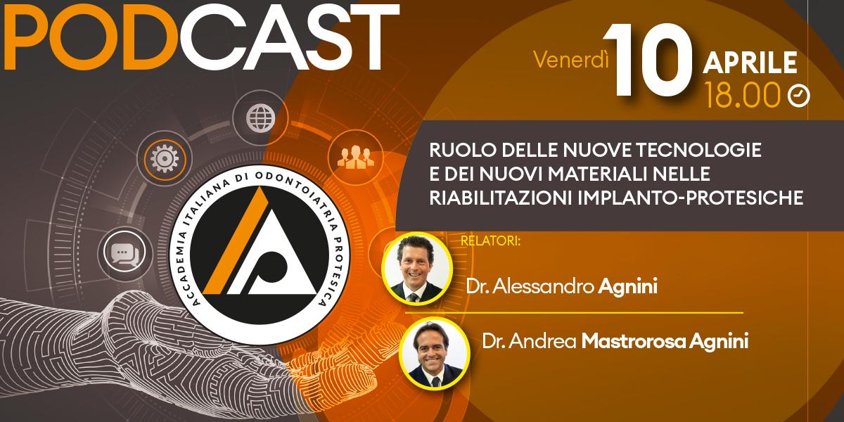 Il Ruolo delle Nuove Tecnologie e dei Nuovi Materiali nelle riabilitazioni implanto-protesiche
