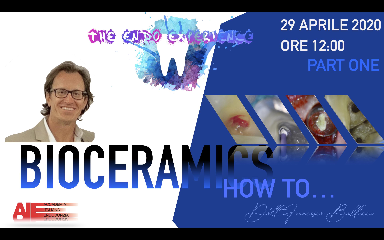 BIOCERAMICS – HOW TO … PART ONE