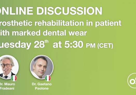 Online Discussion: Prosthetic rehabilitation in patient with marked dental wear