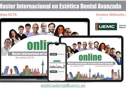 Master Internacional en Estética Dental Avanzada Online, Universidad Europea Miguel de Cervantes (España)