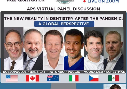 The New Reality in Dentistry after the Pandemic: A Global Perspective
