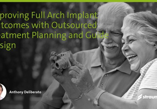 Improving full-arch implant outcomes with outsourced treatment planning and guide design