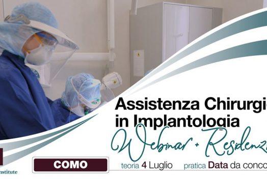 Assistenza chirurgica in implantologia   Era post Covid-19