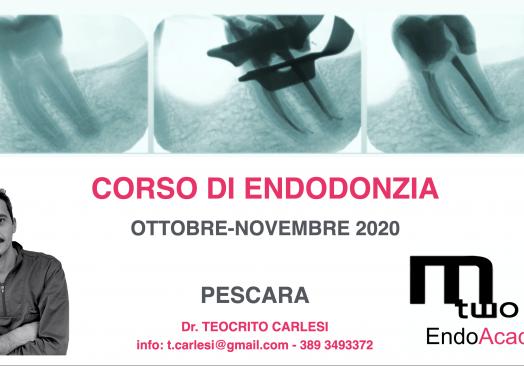 Corso Endodonzia Dott. Carlesi Teocrito- Pescara