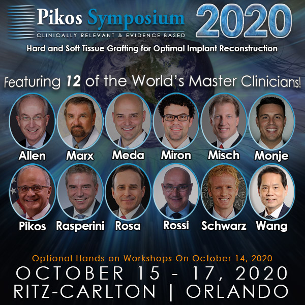Pikos Symposium 2020: Hard and Soft Tissue Grafting for Optimal Implant Reconstruction