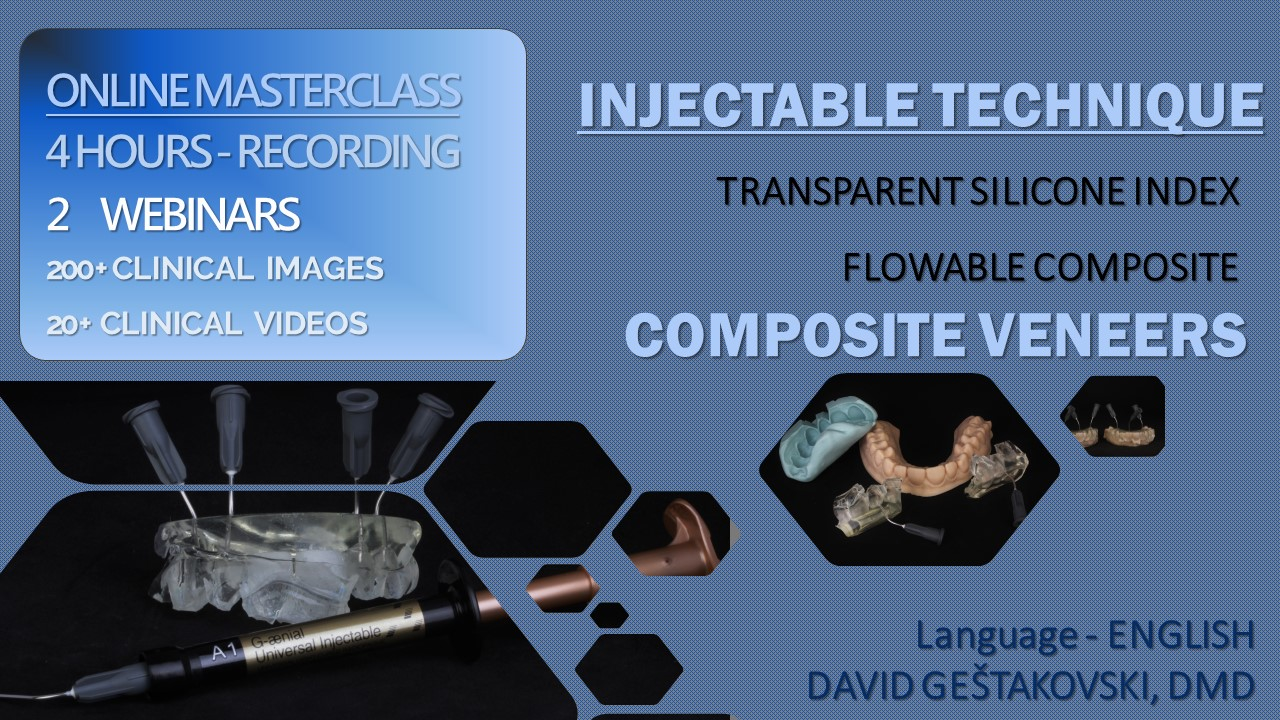 Injectable technique – 4 hour ONLINE masterclass – Recording on demand (not live)