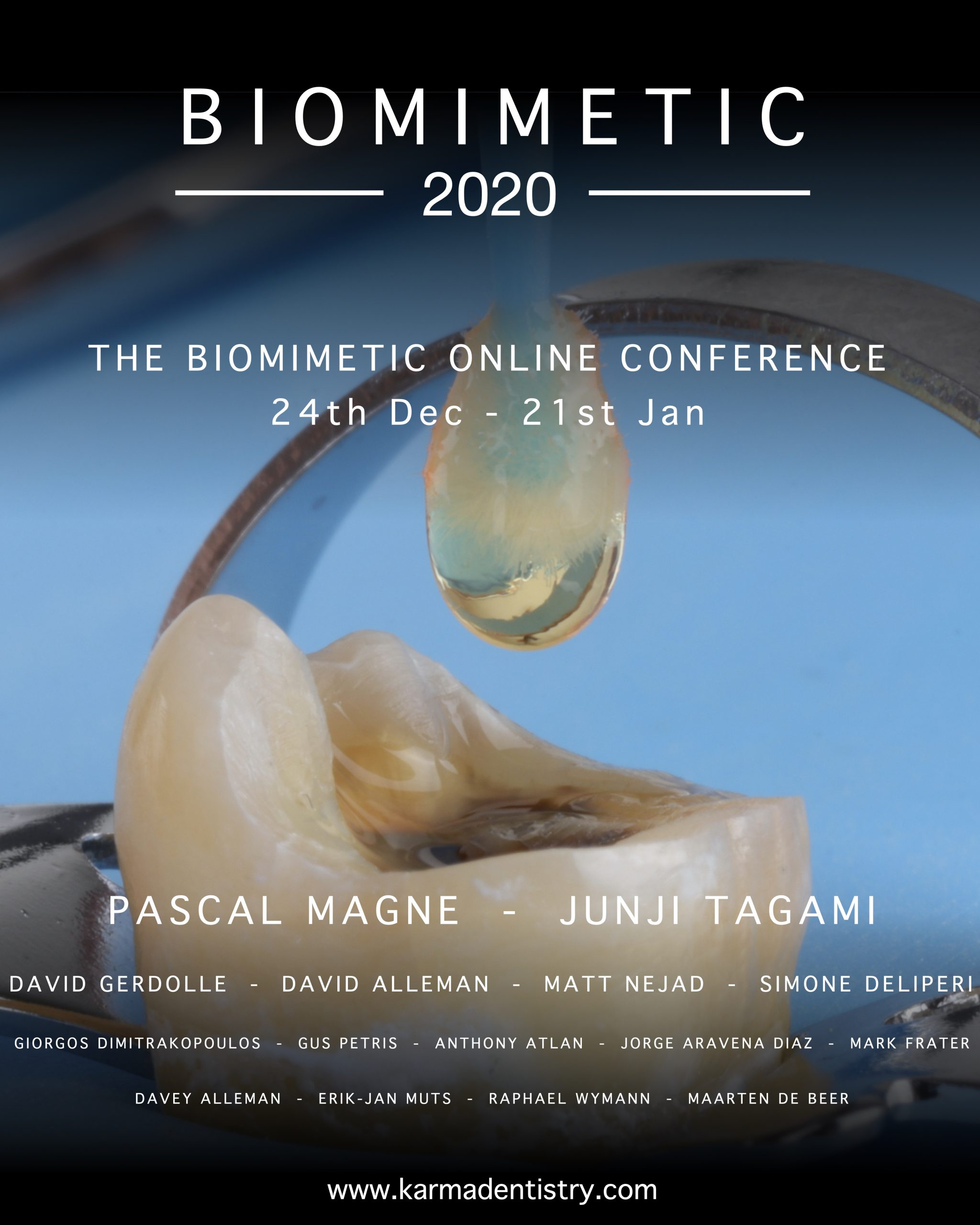 Biomimetic 2020 – THE FIRST ONLINE BIOMIMETIC CONFERENCE