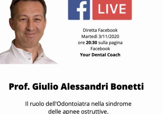 Il ruolo dell'Odontoiatra nella sindrome delle apnee ostruttive