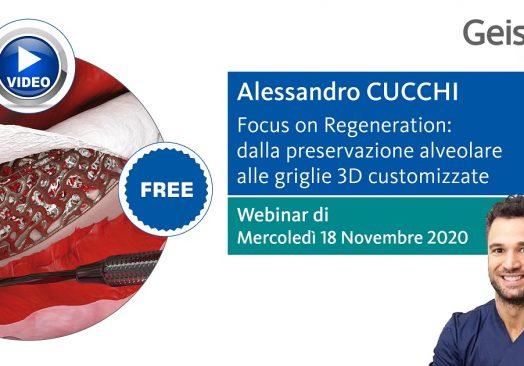 FOCUS ON REGENERATION: DALLA PRESERVAZIONE ALVEOLARE ALLE GRIGLIE 3D CUSTOMIZZATE