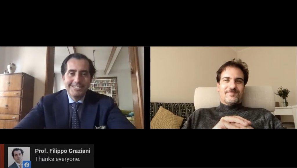 Prof Filippo Graziani: 5 questions interview