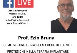 Come gestire le problematiche delle viti protesiche nella terapia implantare