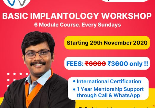 WORKSHOP ON IMPLANTOLOGY