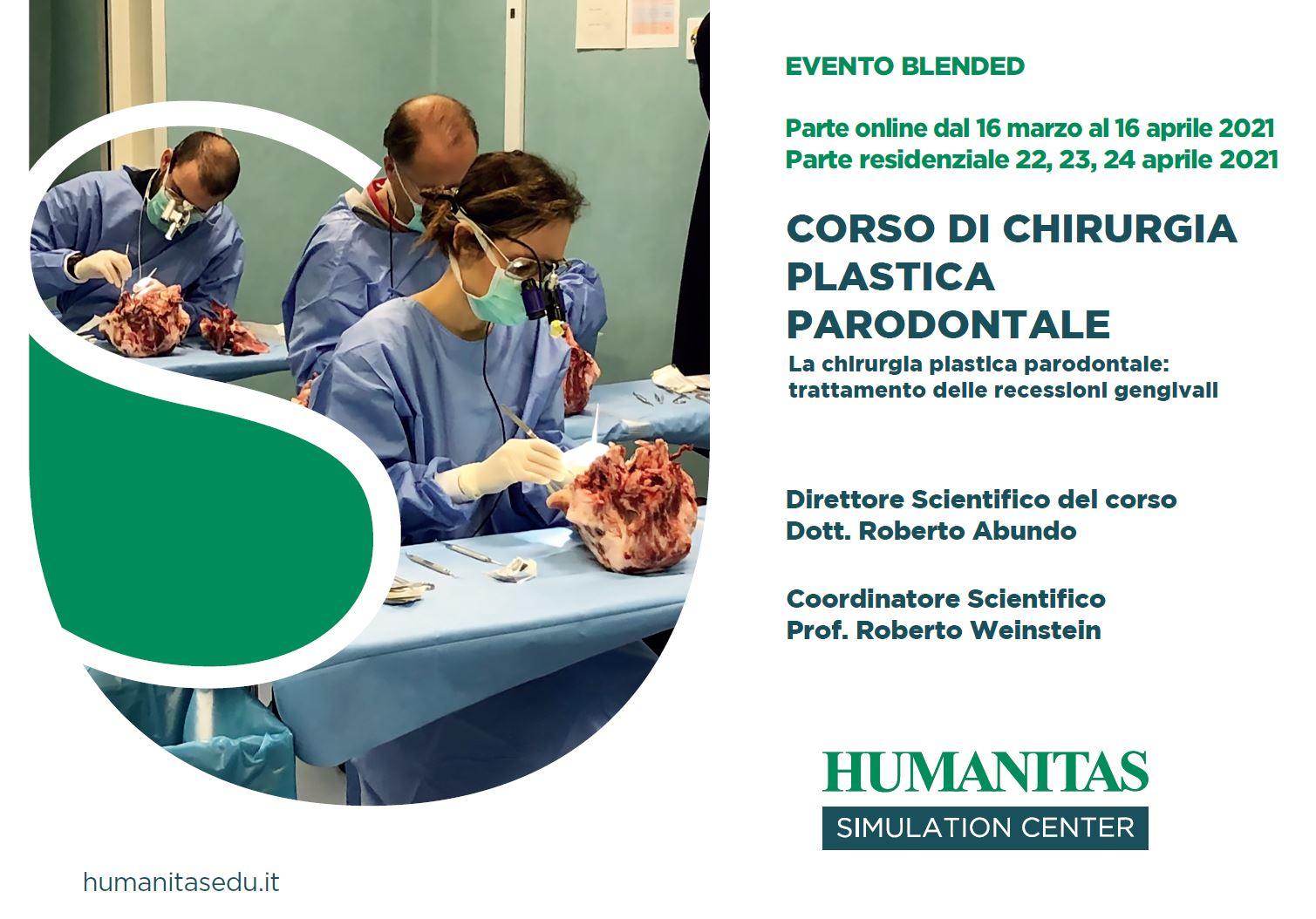 Corso di Chirurgia Plastica Parodontale: corso on-demand e pratico in presenza
