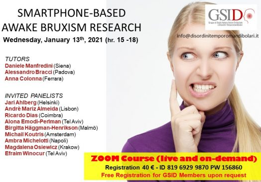 Awake Bruxism: from research to clinics