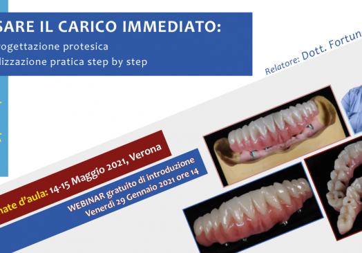 PENSARE IL CARICO IMMEDIATO: dalla progettazione protesica alla realizzazione pratica step by step
