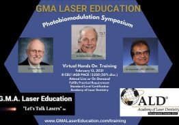 Photobiomodulation Symposium – Dental Applications by 3 Top Laser Dentists – GMA Laser Dentistry