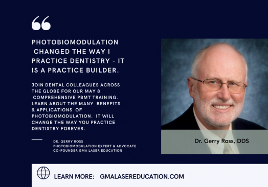 Photobiomodulation in Dentistry – Comprehensive Training