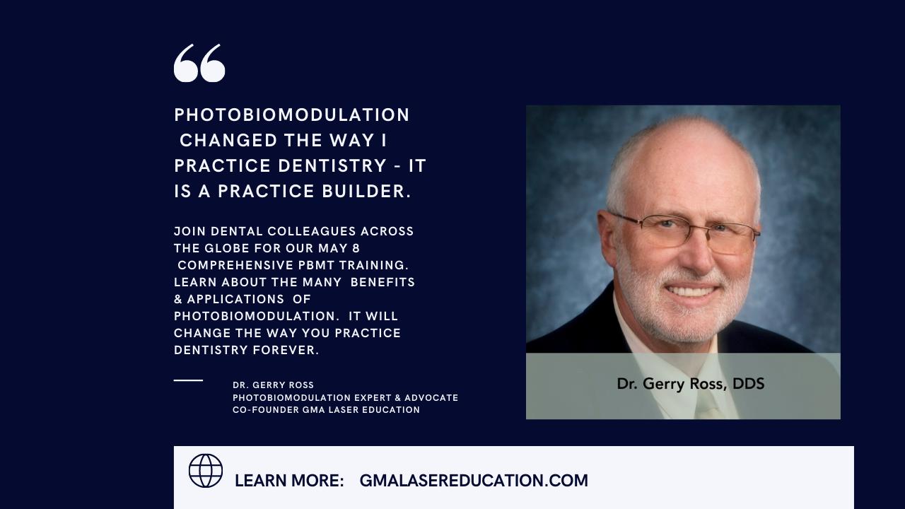 Photobiomodulation in Dentistry – Comprehensive Training