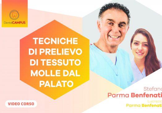 TECNICHE DI PRELIEVO DI TESSUTO MOLLE DAL PALATO Indicazioni in parodontologia ed implantologia. Video-tutorials e casi