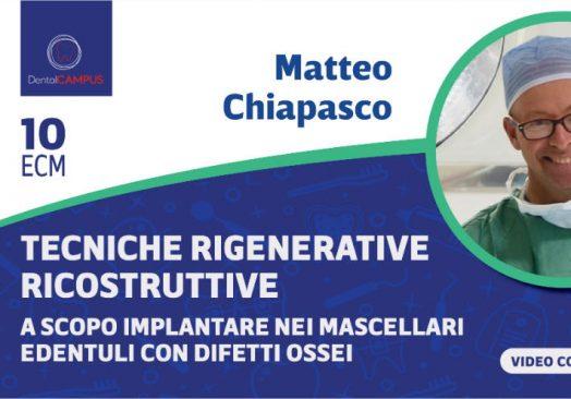 Tecniche rigenerative ricostruttive a scopo implantare nei mascellari edentuli con difetti ossei