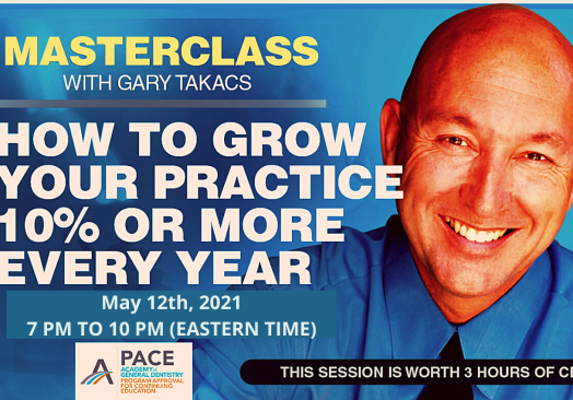 GROW YOUR PRACTICE 10% OR MORE EVERY YEAR