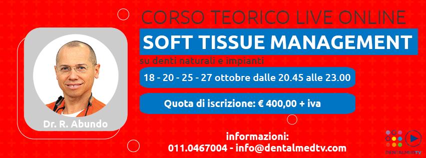 Soft Tissue Management su denti naturali e impianti