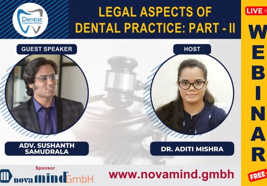 """""""LEGAL ASPECTS OF DENTAL PRACTICE : PART – II"""""""