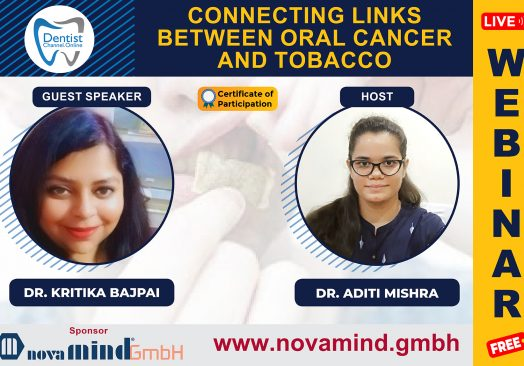 """""""CONNECTING LINKS BETWEEN ORAL CANCER AND TOBACCO"""""""
